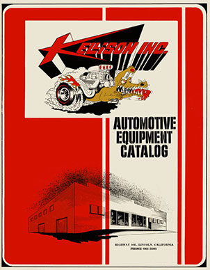 Kellison Automotive Catalogue form the mid 1960's
